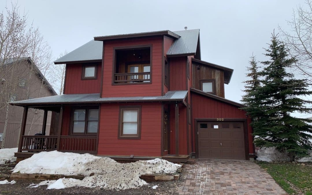 302 Horseshoe Drive, Mt. Crested Butte ~ Sold
