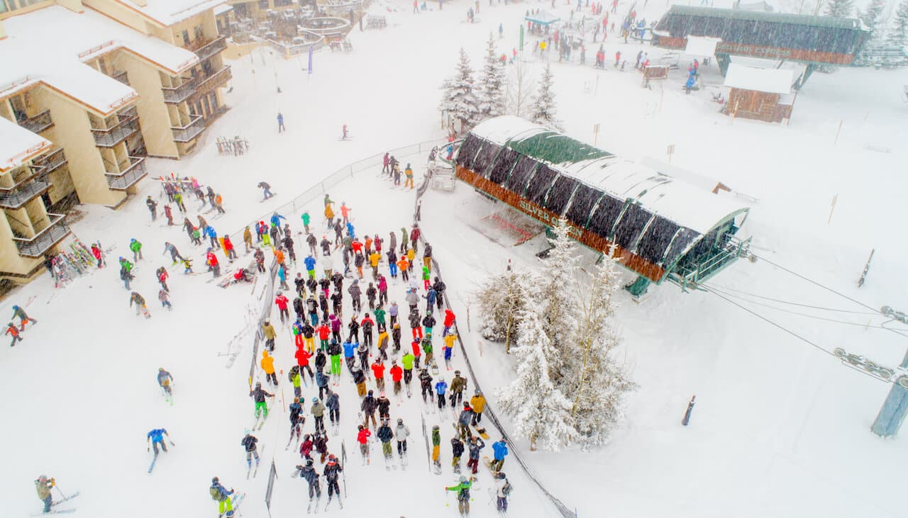Lift Line at the Silver Queen - Crested Butte Events
