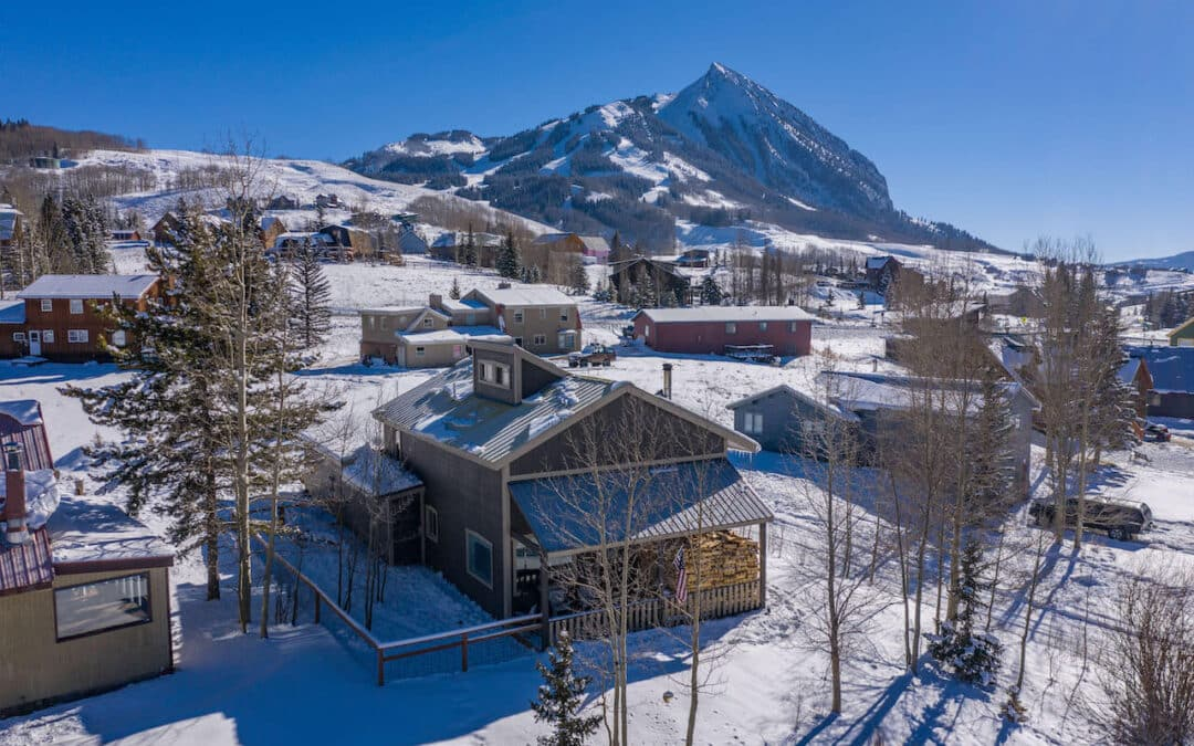 New Listing ~ 30 Paradise Road, Mt. Crested Butte
