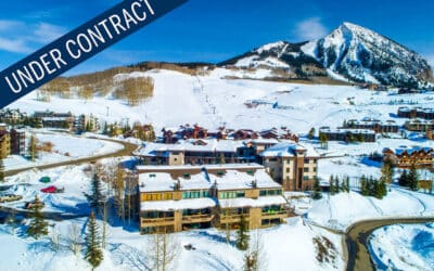 Under Contract ~ 11 Hunter Hill Road, Unit 301, Mt. Crested Butte